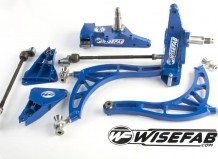 Wisefab Nissan S13, S14 chassis steering lock kit with Ackermann kit