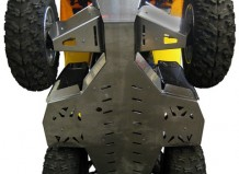 Can-Am 500, 650, 800 Renegade skid plate full kit (aluminium alloy)